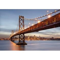PHOTOMURAL 368X254cm BAY BRIDGE