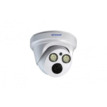 Caméra IP Dome Plastique 1.3MP