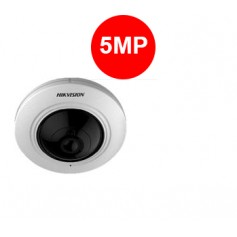 Hikvision. Caméra Fisheye Analog. HD 5MP