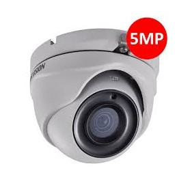 Hikvision. Camèra dôme IR20m, Analog. HD 5MP 3.6 mm