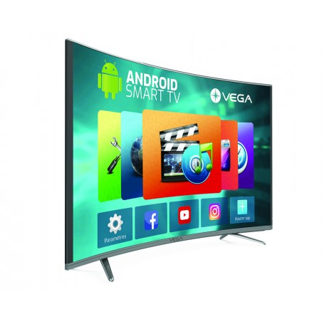 """TV MAXWELL LED 65"""" Curved Smart 4K"""