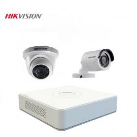 kit 2 caméra de surveillance hikvision 720 p