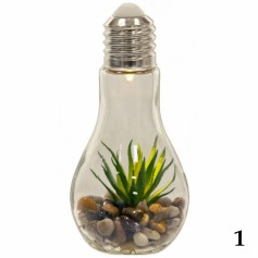 PLANTE ARTIFICIELLE AMPOULE LED