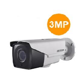 Caméra Externe IR40m, Analog HD 3MP VF motorisé- DS-2CE16F7T-(A)IT3Z