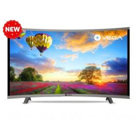 "Téléviseur MAXWELL-VEGA 40"" LED HD Curved Gris"