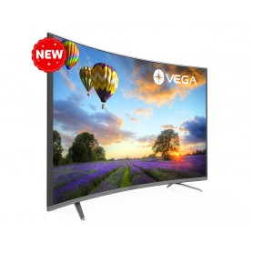 "Téléviseur MAXWELL-VEGA 43"" LED Full HD Curved Gris"