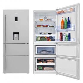 Réfrigérateur BEKO CN158220DX 580 Litres No Frost - Blanc