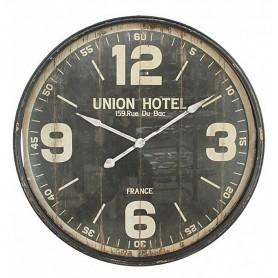 PENDULE MET HOTEL NOIR D90
