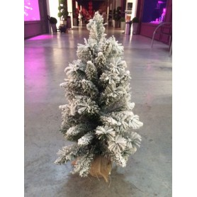 SAPIN TABLE FLOQUE 60 CM
