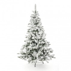 SAPIN BLOOMING FLOQUE 210CM