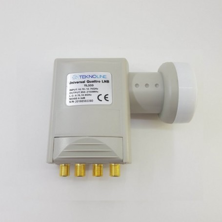 MULTISWITCH 1708 CASCADE ACTIVE/PASSIVE TERRESTRIAL WITH LED TEKNIKSAT TMS-17/8K