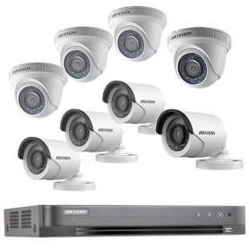 PACK HIKVISION :8  CAMERA  2 MP