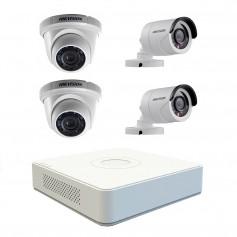 kit 4 caméra de surveillance hikvision 720 p