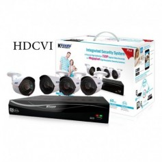 KIT KGUARD EL431-4WA713A DVR+ 4 Caméras de surveillance