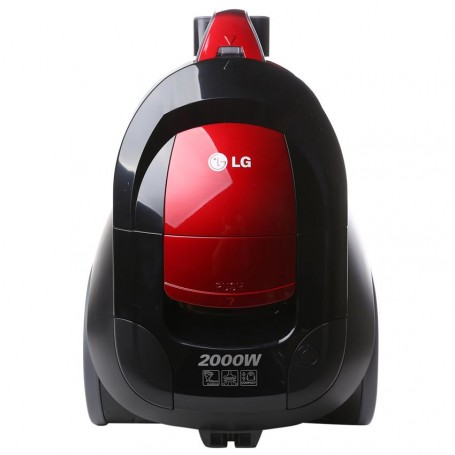 aspirateur lg sans sac 2000w rouge handle slide vc3320nhtr lamaison. Black Bedroom Furniture Sets. Home Design Ideas