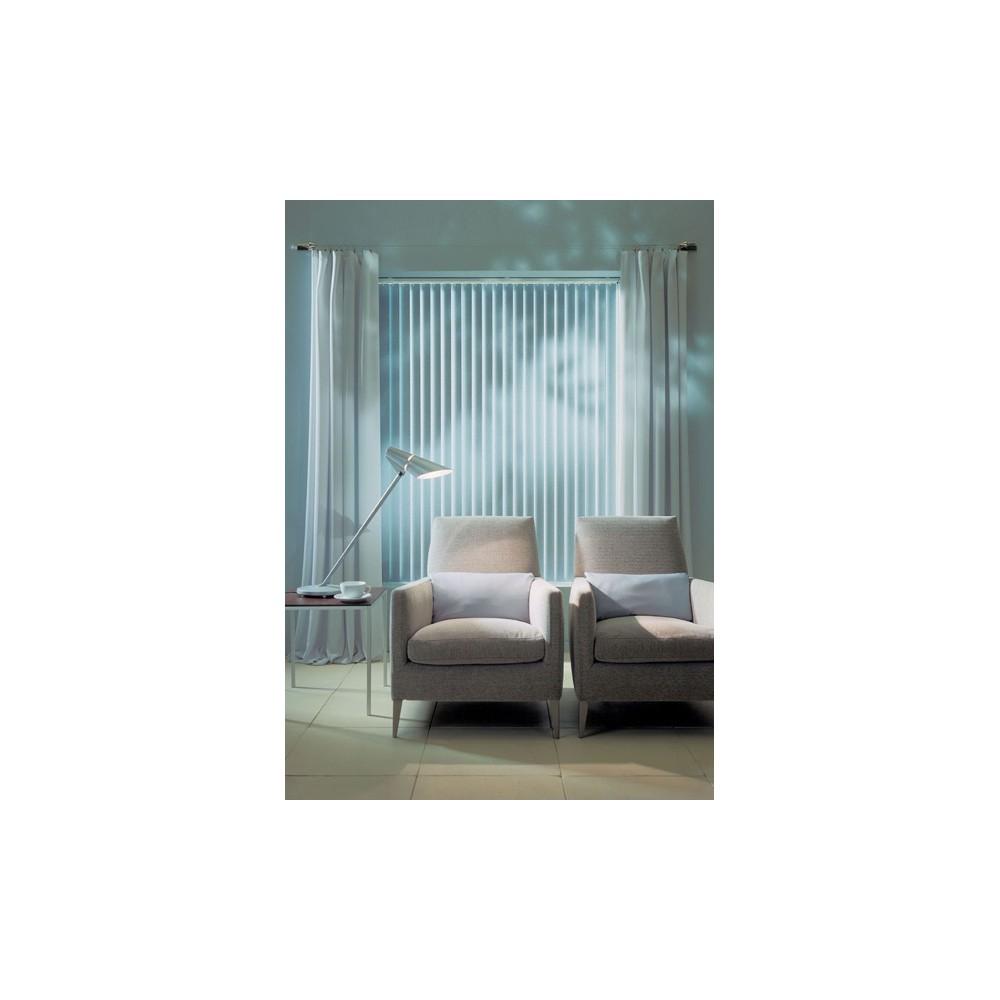 store lamelles verticales en pvc 89 mm lamaison. Black Bedroom Furniture Sets. Home Design Ideas